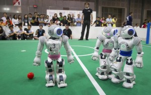 Robots playing sport