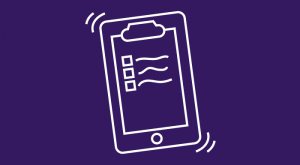 Mobile phone with clipboard app