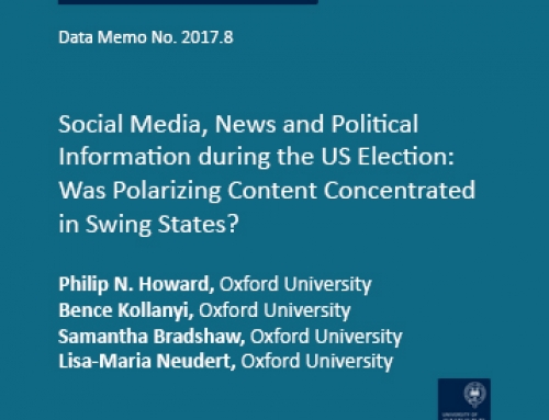 Social Media, News and Political Information during the US Election: Was Polarizing Content Concentrated in Swing States?