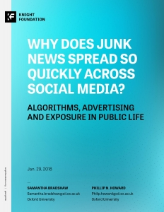 Why Does Junk News Spread So Quickly Across Social Media?