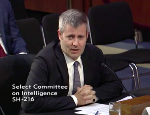 Phil Howard Provides Testimony for Senate Intelligence Committee