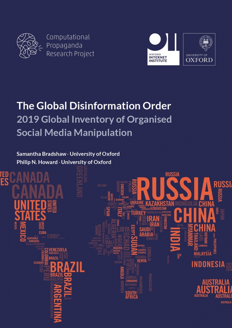 the global disinformation order  2019 global inventory of