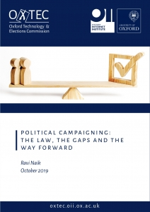 OxTEC: Political campaigning - the law, the gaps and the way forward