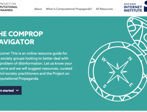 The ComProp Navigator: A resource guide for civil society